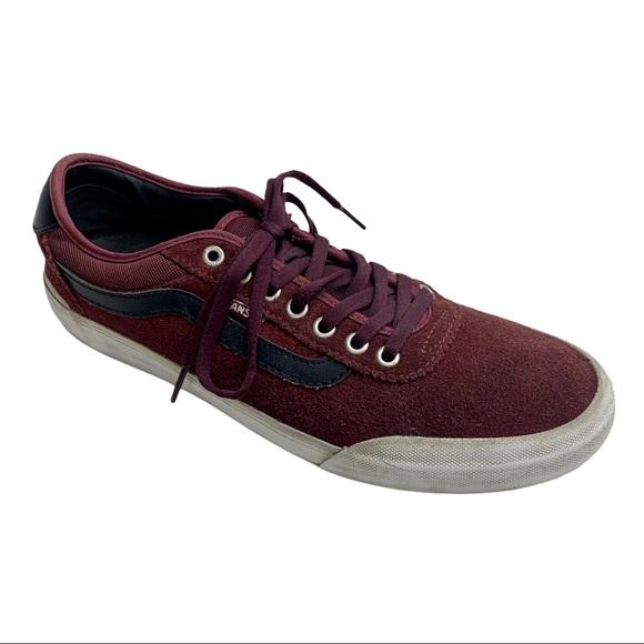 Vans Chima Ferguson Pro Maroon Suede Shoes 10.5